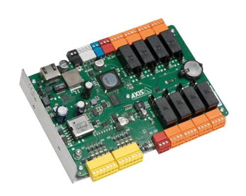 Network I/O relay modules